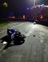 Mierzyn. Wypadek na drodze wojewódzkiej nr 160 na wysokości ośrodka wypoczynkowego w Mierzynie