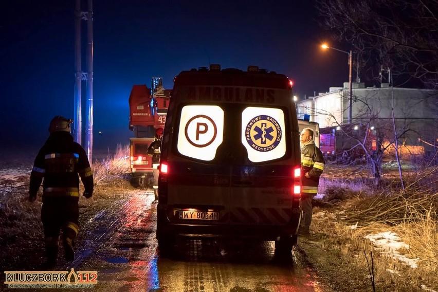 Wybuch gazu w bloku w Gierałcicach.