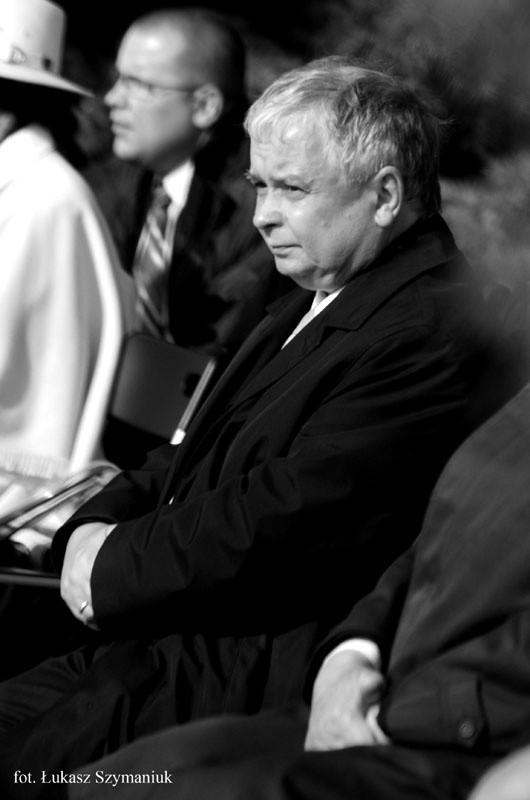 Prezydent Lech Kaczyński w Białymstoku podczas beatyfikacji ks. Michała Sopoćki
