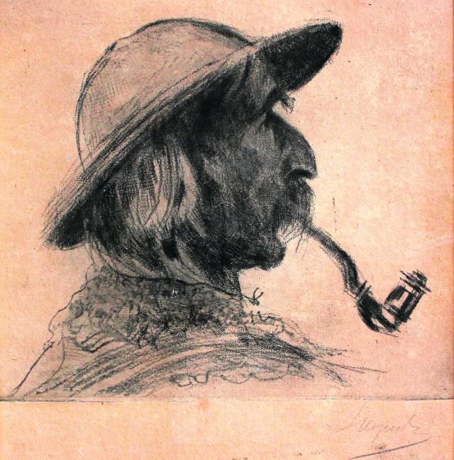 Ten portret autorstwa Leona Wyczółkowskiego rozpalił emocje wśród uczestników aukcji. Cena sprzedaży przekroczyła oczekiwania