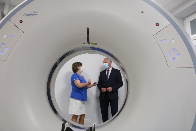 Już działa nowa pracownia tomografii komputerowej w Szpitalu Powiatowym w Drezdenku.