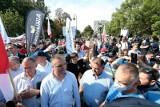 """Protest rolników w Warszawie przeciwko Piątce dla zwierząt. """"Niedługo będzie ostro"""""""