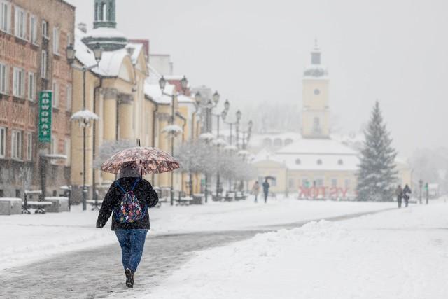 Pogoda w województwie podlaskim. Idą mrozy i śnieżyce!