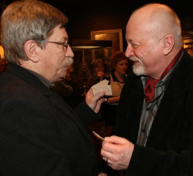 Na zdjęciu Leszek Ołdak i Marek Mikulski.