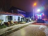 Pożar domu na Bronowicach. W środku strażacy znaleźli zwłoki kobiety
