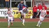 Fortuna 1 Liga. Apklan Resovia - Odra Opole 1:1 w meczu walki rozegranym w Wielką Sobotę [ZDJĘCIA]