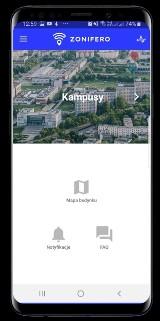 Białostoccy informatycy białostocką politechnikę wyposażyli w Zonifero - aplikację-przewodnik po uczelni