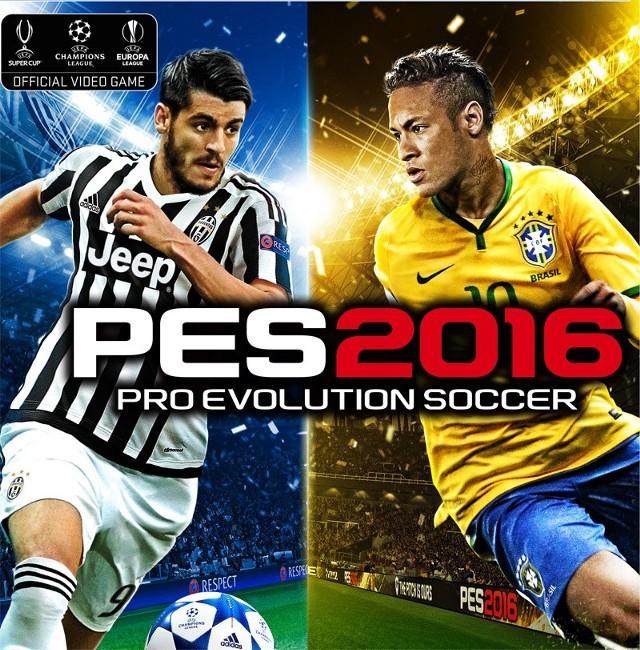 PES 2016Alvaro Morata i Neymar, gwiazdy okładki PES 2016