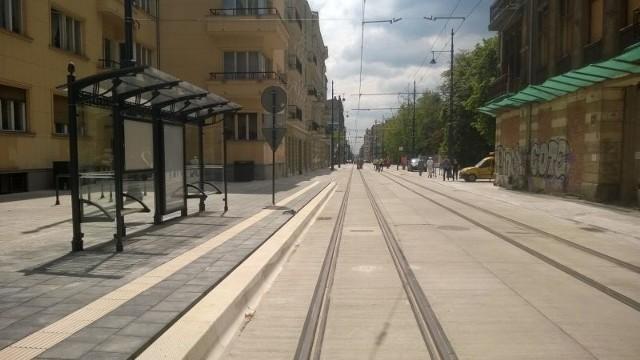 Na ul. Kilińskiego tramwaje wrócą dopiero za około miesiąc.
