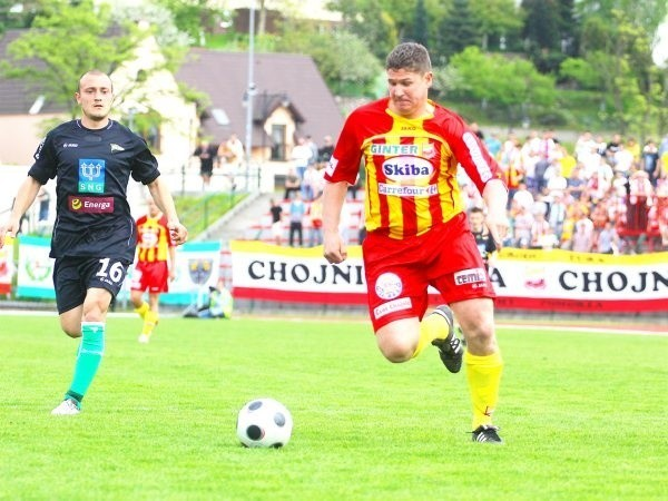 Andrzej Borowski zakończy meczem z Widzewem karierę w Chojniczance, dla której strzelił w oficjalnych meczach ligowych 499 bramek