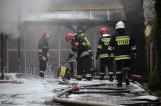 Pożar w hurtowni fajerwerków i zniczy w Bełchatowie [ZDJĘCIA]