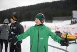 Sezon żużlowy 2019. Zawodnicy Falubazu Zielona Góra trenują w górach. Na nartach jeździ też Patryk Dudek