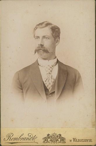 Portret Eliasza Adama Zaleskiego ze zbiorów jego rodziny.
