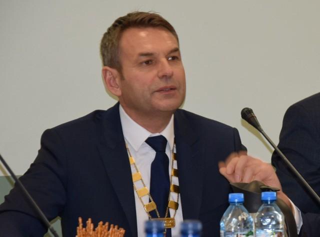 Wojciech Zarzycki - przewodnicżący rady miasta