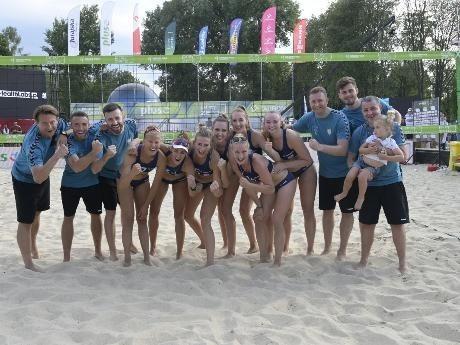 Z awansu do ubiegłorocznego finału tak cieszyła się ekipa Grot Budowlanych