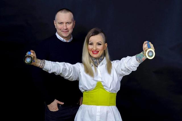 Iwona Ostrowska ze Słupska została Mistrzynią Świata we Fryzjerstwie!