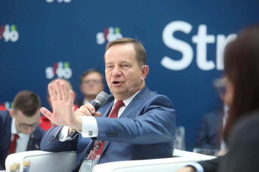 Marszałek Władysław Ortyl (zdjęcie z debaty Polska Wschodnia podczasubiegłorocznej edycji Kongresu 590): - Sytuacja jest nadzwyczajna, ale patrzymy na nią też jak na pewną szansę