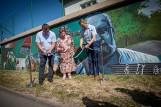 100. urodziny Jastrzębiej Góry. Uroczystości rozpoczęło odsłonięcie wyjątkowego muralu