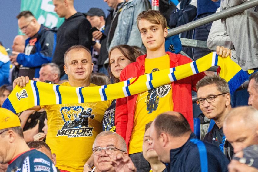 Kibice świętowali na stadionie awans żużlowców Motoru Lublin do finału PGE Ekstraligi. Zobacz zdjęcia