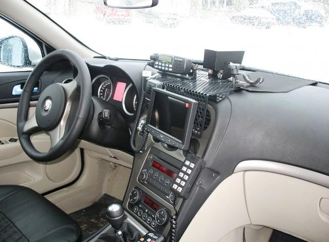 Alfa romeo 159 - nowy radiowózAlfa romeo 159 - nowy radiowóz
