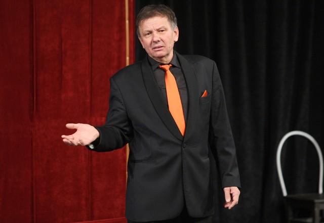 """Zenon Laskowik w niedzielę w Teatrze Muzycznym zaprezentuje uaktualnioną wersję programu """"Będą zmiany"""""""