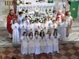 Pierwsza Komunia Święta w Małkini Górnej. Zdjęcia