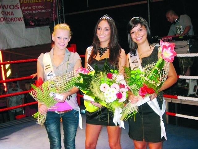 Miss Sokółki 2011 została Edyta Cilulko (w środku). Tytuł I Vice Miss zdobyła Paula Mikłasz (z prawej), a II Vice Miss – Magda Piktel