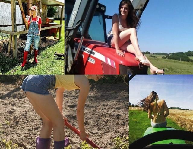 """Rolnik w szpilkach to profil na Instagramie znanej z """"Rolnik Szuka Żony"""" Małgosi Sienkiewicz. Rolniczka pokazuje, że kobieta pracująca na wsi może być piękna i seksowna. Zobaczcie najpiękniejsze kobiety, które nie boją się pracy na wsi!"""