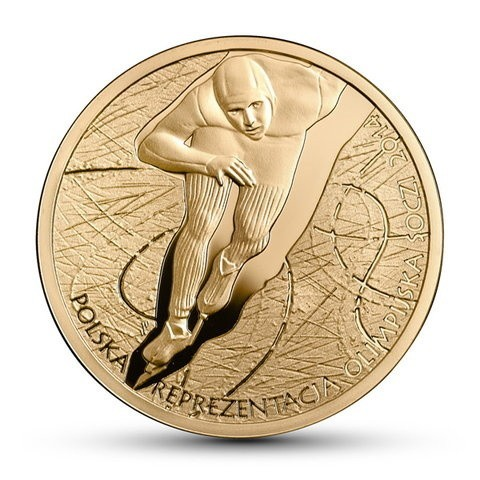 Moneta 200 zł ze złota próby 900. Nakład do 2 500. Projekt Urszula Walerzak.