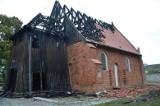 Pożar zniszczył kościół w Orłowie. Ministerstwo kultury obiecuje wsparcie w odbudowie zabytkowej świątyni na Żuławach