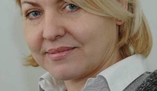 """Iwona Zielińska-Adamczyk, redaktor naczelna """"Gazety Lubuskiej""""."""
