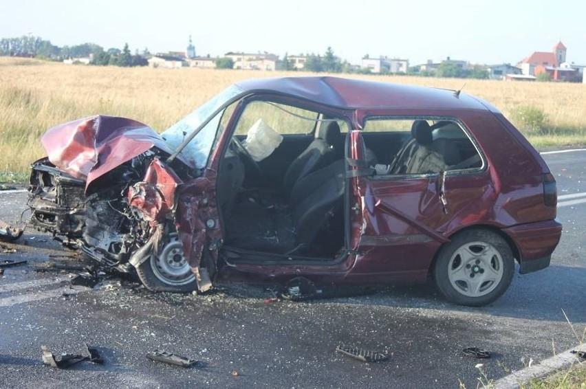 Trzy osoby zostały ranne w wypadku, do którego doszło w...