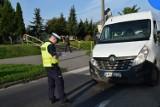 Śmiertelne potrącenie na przejściu dla pieszych w Chojnicach 16.09.2020. Nie żyje 75-letnia kobieta. 26-letni kierowca busa zatrzymany