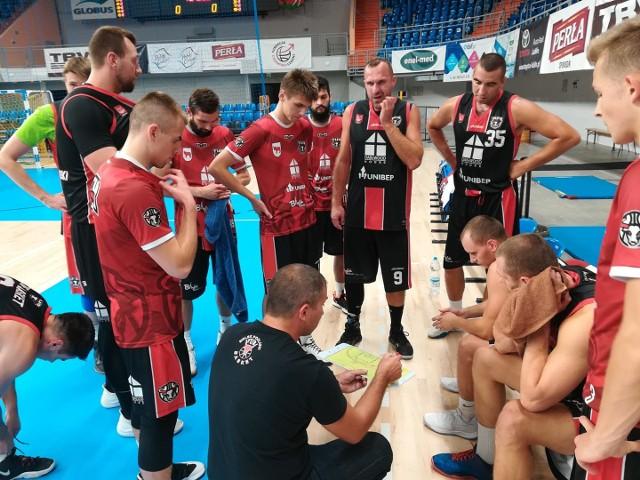 Tur Basket Bielsk Podlaski podczas sparingu w Lublinie