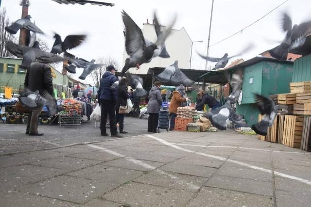 Rynek przy ul. Owocowej cieszy się dużą popularnością. Ale poza dniem targowym to miejsce straszy...