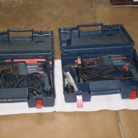 Handlarze sprzedawali m.in. sprzęt ze znakiem firmy Bosch.