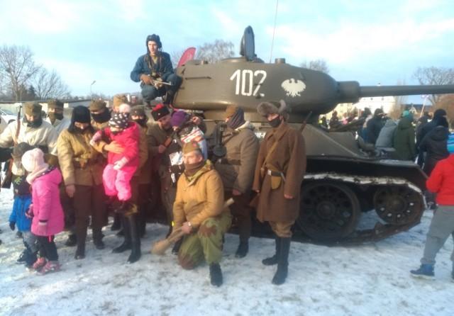 Czołg był atrakcją tegorocznego finału WOŚP w Koronowie