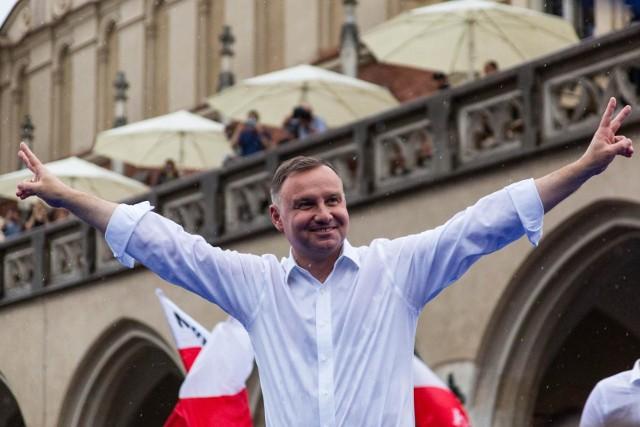 Andrzej Duda zwyciężył w I turze