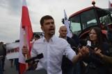 Protest rolników na DK12 pod Piotrkowem. Agrounia zablokowała drogę na dwa dni, 04.08.2021 ZDJĘCIA, WIDEO