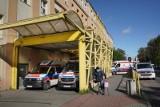 Pacjent wyskoczył z okna szpitala psychiatrycznego HCP.  Mężczyzna był agresywny. Udało się go obezwładnić