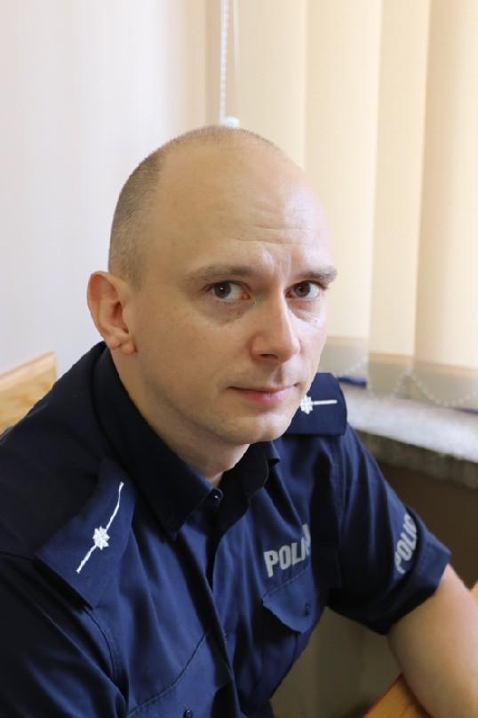 Augustów. Rejon służbowy miejski Nr 1: dzielnicowy – mł.asp....