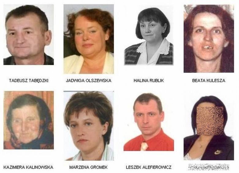 To tylko niektórzy z zaginionych mieszkańców województwa...