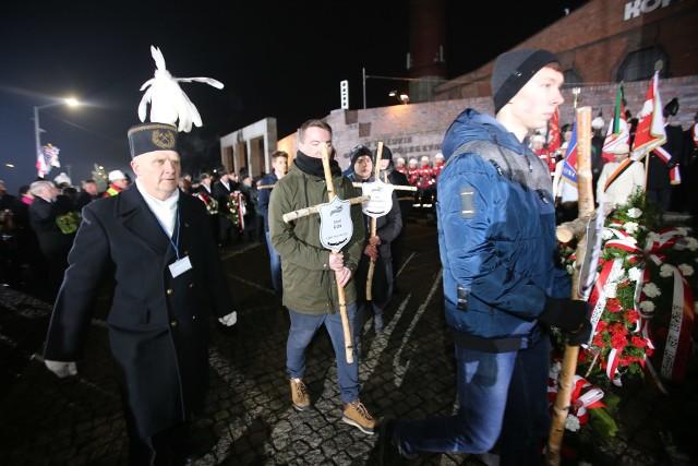 Obchody 36. rocznicy pacyfikacji kopalni Wujek w Katowicach