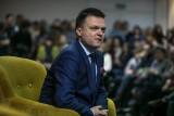 Wybory prezydenckie 2020. Szymon Hołownia z wizytą w Koszalinie i Kołobrzegu