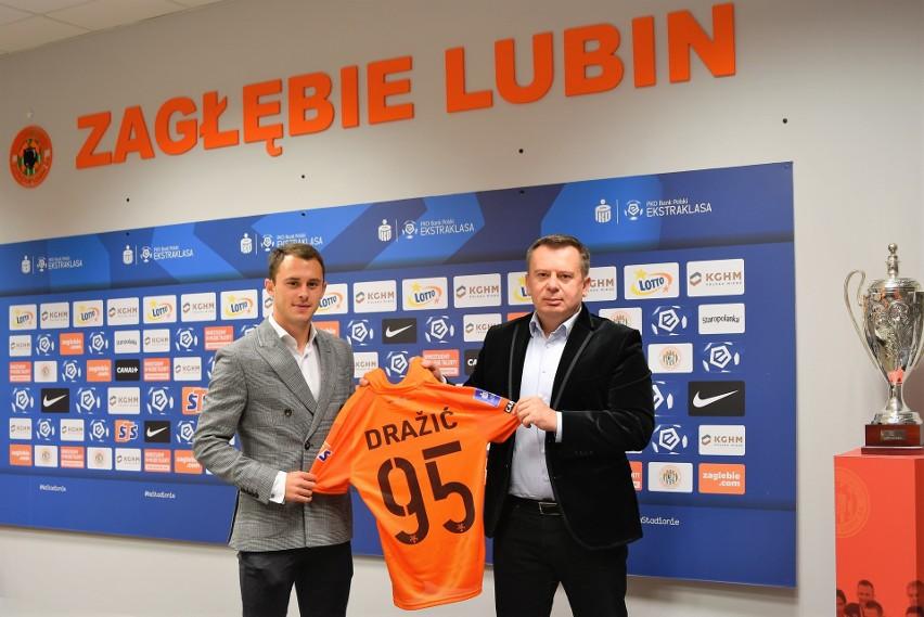 Dejan Drazić piłkarzem Zagłębia Lubin