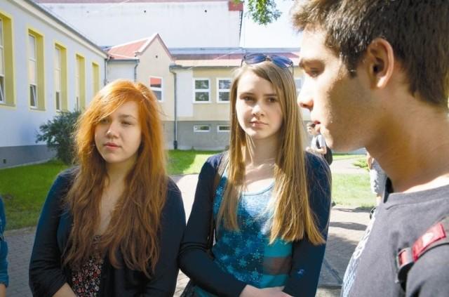 Od lewej: Monika, Kasia i David zgodnie przyznają, że przyjaźnie, które zawarli w czasie Comeniusa to dla nich cenna rzecz