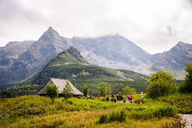 Hala Gąsienicowa w Tatrach