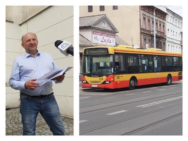 Radny PiS-u, Krzysztof Kosiński uważa, że obcięcie o ok. 20 proc. kursów komunikacji miejskiej narusza przepisy ustawy o transporcie publicznym. Decyzję taką podjął prezydent Maciej Glamowski