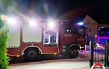 Nocny pożar w Podegrodziu. Nieszczęście zaczęło się od sadzy w kominie