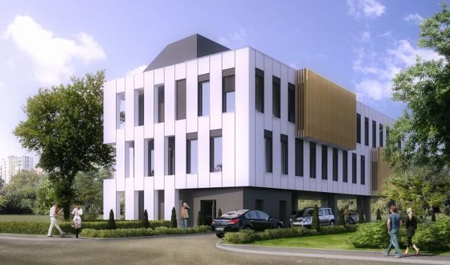 Nowy biurowiec ICN przy ul. Ceramicznej